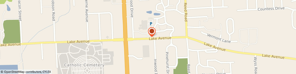 Route/map/directions to Concordia Lutheran Grade Schl, 46815 Fort Wayne, 4245 Lake Avenue