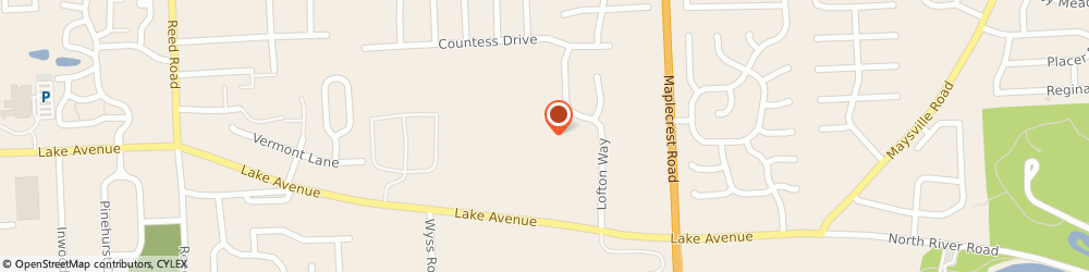 Route/map/directions to Trelan Nursery North, 46815 Fort Wayne, 5833 LAKE AVE