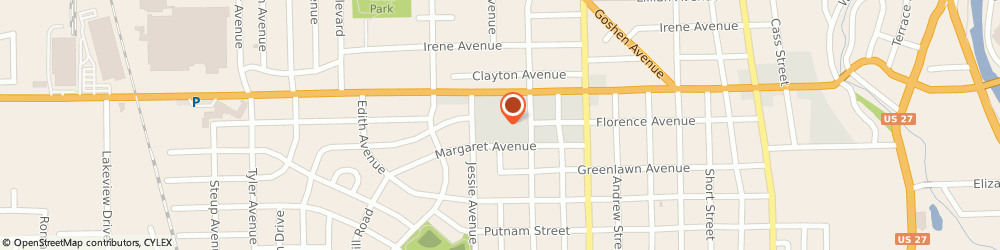 Route/map/directions to Navy Federal Credit Union ATM, 46808 Fort Wayne, 1125 W State Blvd
