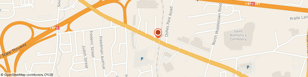 Route/map/directions to Allstate Insurance Company - Daniel Castricone, 10954 Nanuet, 342 W Route 59