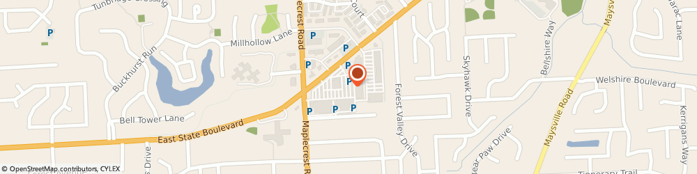 Route/map/directions to Atm Great Western Bank, 46815 Fort Wayne, 6302 E State Blvd