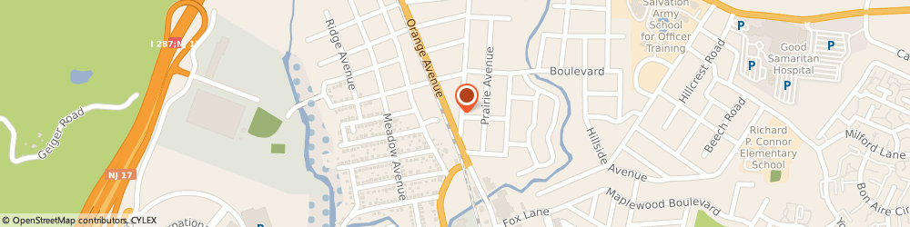 Route/map/directions to Safeco Insurance Agent, 10901-6252 Suffern, 198 Orange Ave