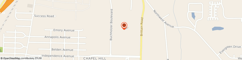 Route/map/directions to JCPenney, 44310 Akron, 2000 Brittain Rd
