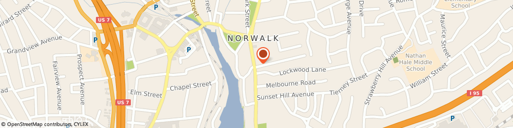 Route/map/directions to Chamber Of Commerce-Greater Norwalk, 06851 Norwalk, 101 East Avenue