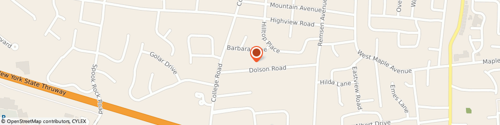 Route/map/directions to Allstate Insurance Co, 10952 Monsey, 20 DOLSON RD