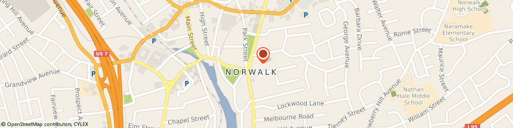 Route/map/directions to Horizon Staffing Services, 06851 Norwalk, 83 East Ave