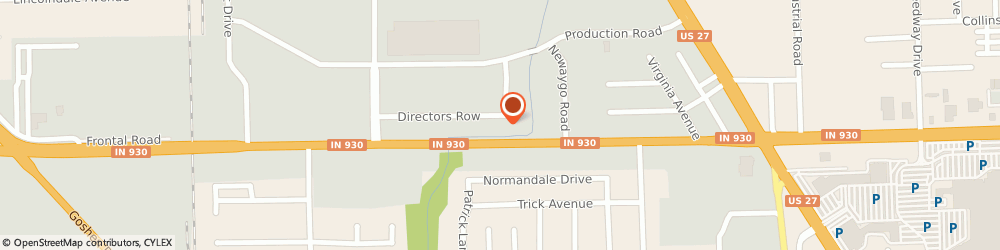 Route/map/directions to Heartland Hospice Serving Northeast Indiana, 46808 Fort Wayne, 1315 Directors Row
