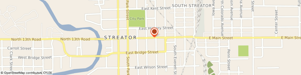 Route/map/directions to Farmers Insurance - Matt McMullen, 61364 Streator, 424 E Main St