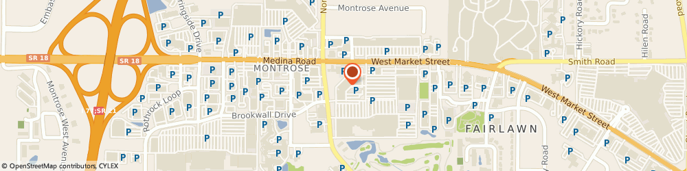Route/map/directions to PetSmart - Free Curbside Pickup Available, 44333 Fairlawn, 3750 W Market St