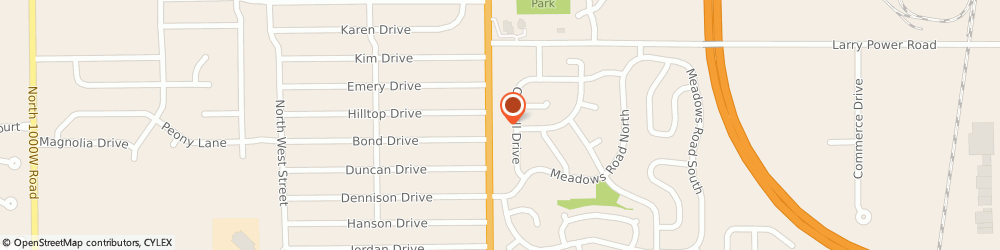 Route/map/directions to Edward Jones - Financial Advisor: Chad McCleary, 60914 Bourbonnais, 1230 N Convent