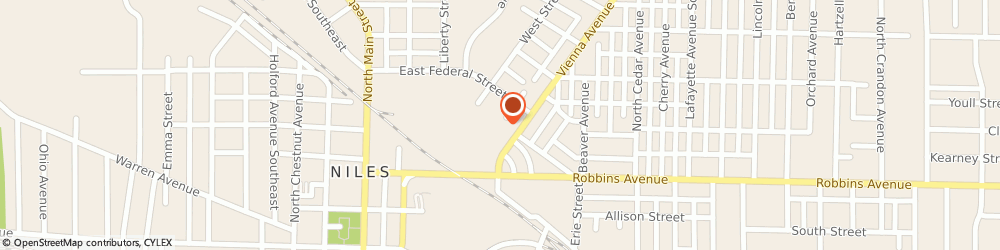 Route/map/directions to Giant Eagle Pharmacy, 44446 Niles, 48 Vienna Ave