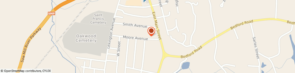 Route/map/directions to Erie J Moore Insurance Agency LLC, 10549 Mount Kisco, 37 Moore Avenue Suite 2Nd Floor Frnt