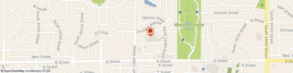 Route/map/directions to H&R Block, 68137 Omaha, 4959 S 155th St