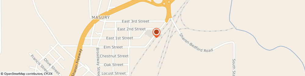 Route/map/directions to Specialty Strip & Oscillating, 44438 Masury, 1262 STANDARD AVE