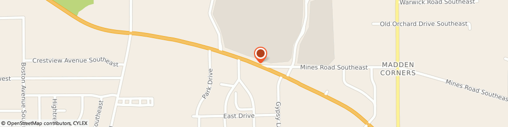Route/map/directions to Radio Shack, 44446 Niles, 5555 Youngstown Warren Rd