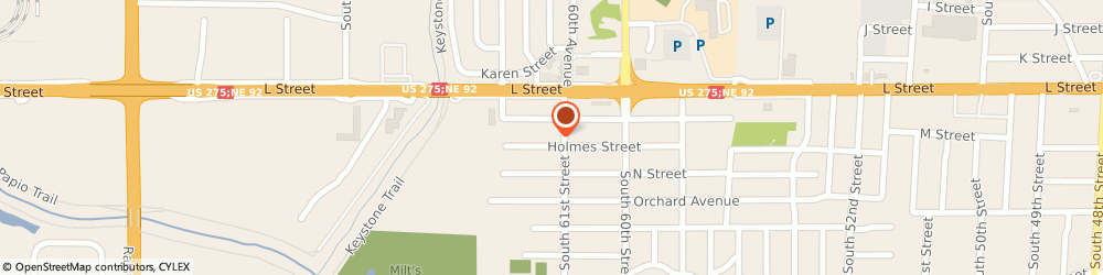 Route/map/directions to Firestone Retailer, 68117 Omaha, 4820 South 61St Street