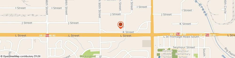 Route/map/directions to Firestone Retailer, 68127 Omaha, 8914 L Street