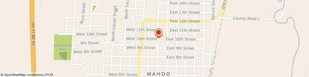 Route/map/directions to Church Of Jesus Christ Of Latter Day Saints, 68066 Wahoo, 141 WEST 10TH STREET