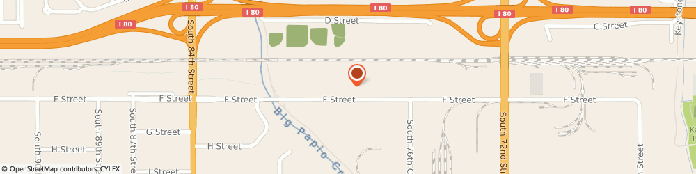 Route/map/directions to Firestone Retailer, 68127 Omaha, 7728 F Street