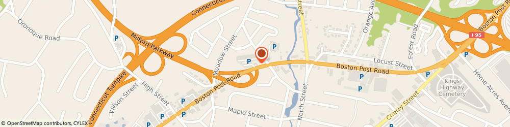 Route/map/directions to CITGO Post Parkway Service, 06460 Milford, 684 Boston Post Rd