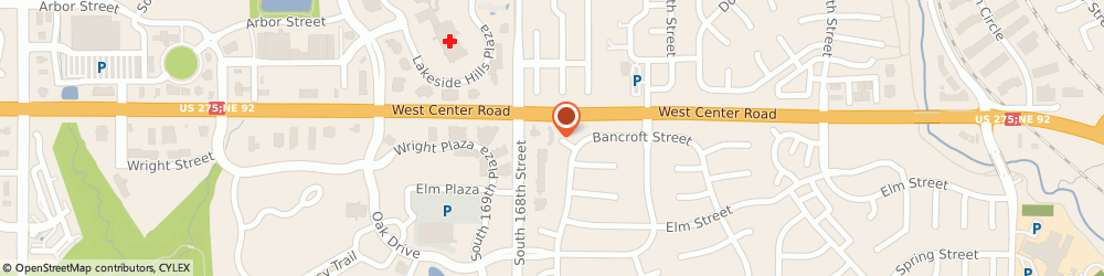 Route/map/directions to Firestone Retailer, 68130 Omaha, 2845 S 168Th