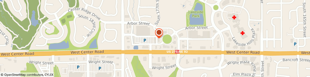 Route/map/directions to H&R Block, 68130 Omaha, 2559 S 177th Plaza