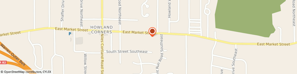 Route/map/directions to Kenilworth Steel Co, 44484 Warren, 8700 E Market St, Suite 11