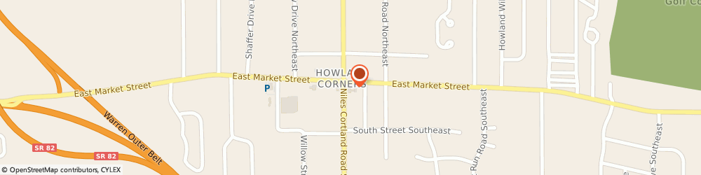 Route/map/directions to Howland GetGo, 44484 Warren, 119 Niles Cortland Road
