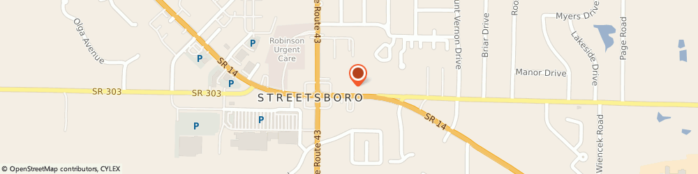 Route/map/directions to Navy Federal Credit Union ATM, 44214 Streetsboro, 9202 State Rd 14