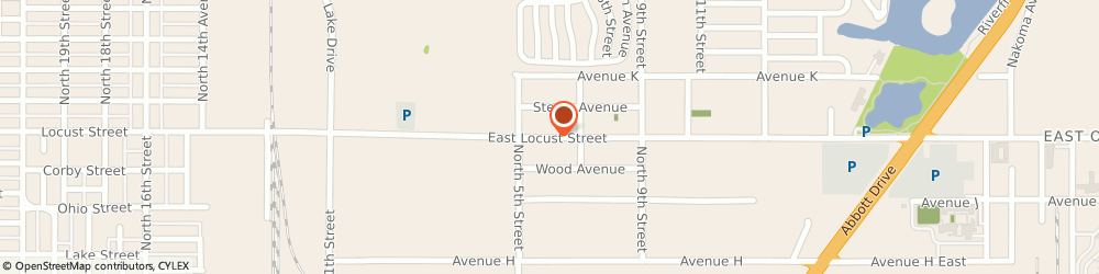 Route/map/directions to Dollar Rent a Car, 51510 Carter Lake, 1650 LOCUST STREET