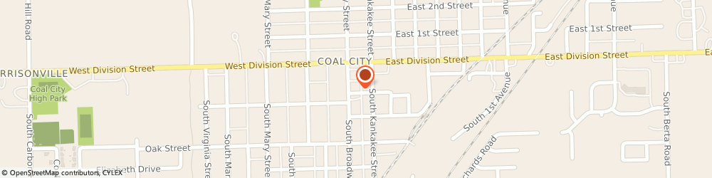 Route/map/directions to Safeco Insurance Agent, 60416-1519 Coal City, 85 S Broadway St