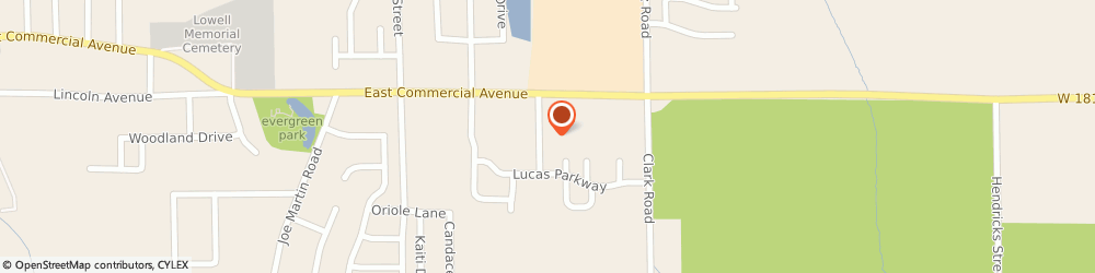 Route/map/directions to Aurelio's Pizza, 46356 Lowell, 166 Deanna Dr