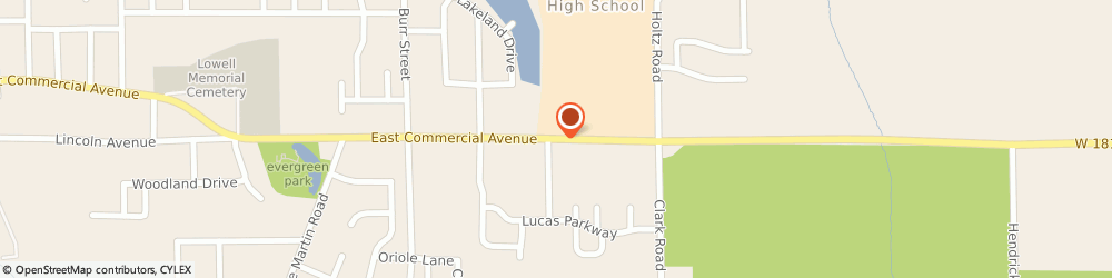 Route/map/directions to ANYTIME FITNESS Lowell, 46356 Lowell, 1920 E Commercial Ave