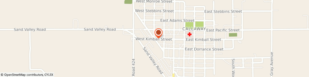 Route/map/directions to Progressive Insurance, 68825 Callaway, 111 E Kimball