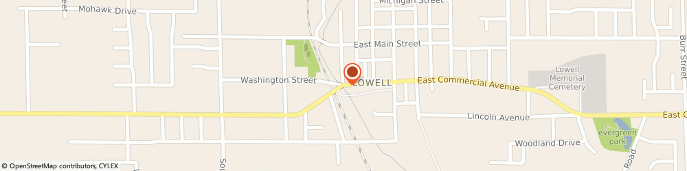 Route/map/directions to American Legion - Lowell Post 101, 46356 Lowell, 108 E Commercial Ave
