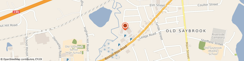 Route/map/directions to Cosmo Prof Old Saybrook, 06475 Old Saybrook, 907 Boston Post Road