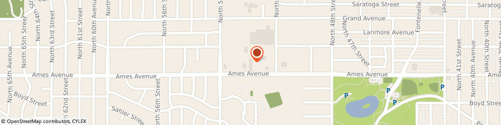 Route/map/directions to H&R Block, 68104 Omaha, 5078 Ames Ave