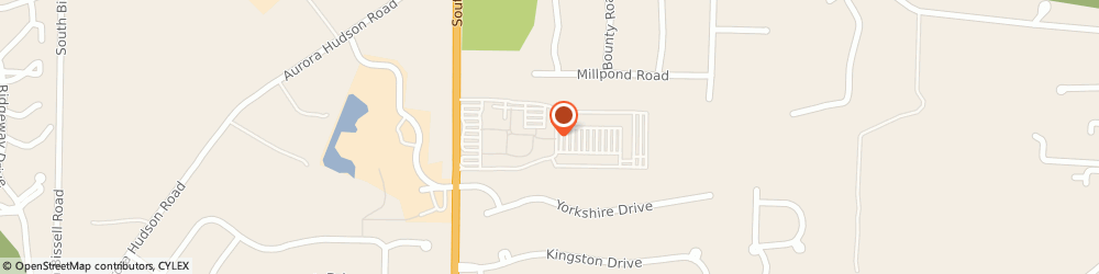 Route/map/directions to Aeropostale Aurora, 44202 Aurora, 549 South Chillicothe Rd