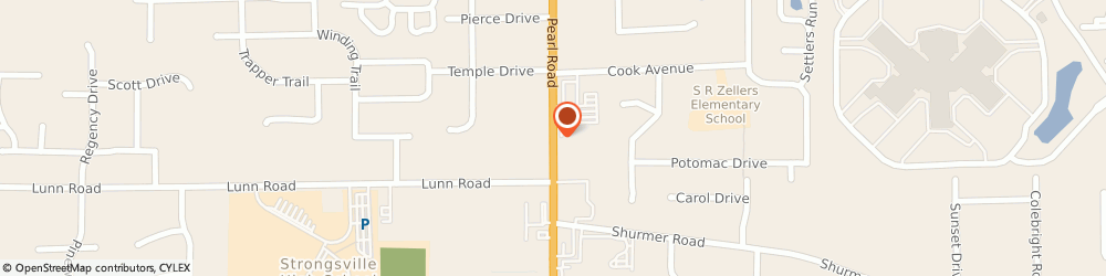 Route/map/directions to Curves For Women - Strongsville, 44136 Cleveland, 13500 PEARL ROAD