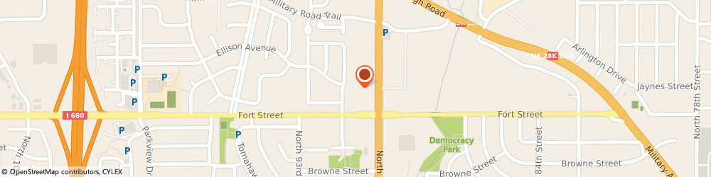 Route/map/directions to H&R Block, 68134 Omaha, 5454 N 90th St