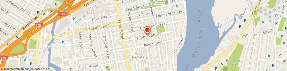 Route/map/directions to E Global TV Inc, 06513 New Haven, 118 Atwater Street