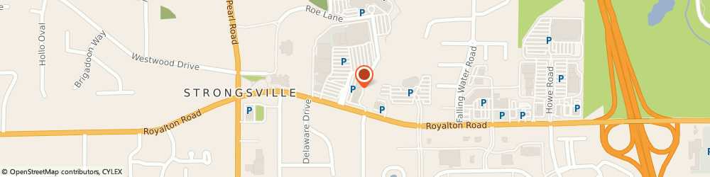 Route/map/directions to FAMOUS FOOTWEAR, 44136 Strongsville, 18074 Royalton Road