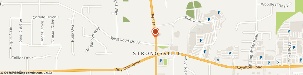 Route/map/directions to Curves For Women, 44136 Strongsville, 13500 PEARL RD STE 131