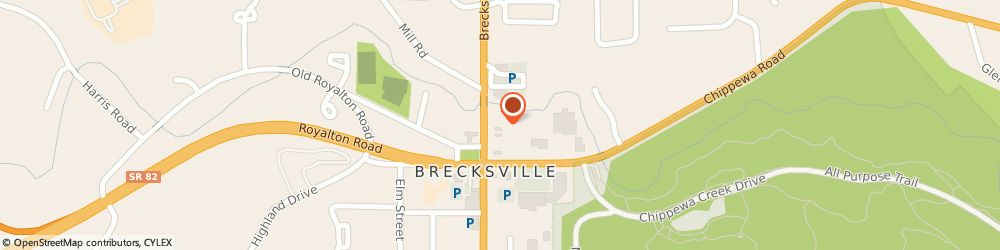 Route/map/directions to Mail Boxes Etc - Brecksville, 44141 Brecksville, 8803  ROAD SUITE 7