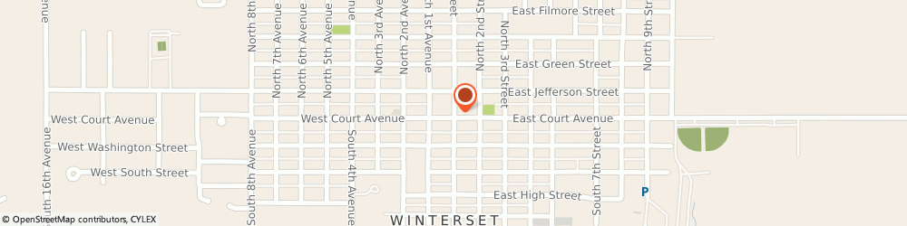Route/map/directions to Navy Federal Credit Union, 50273 Winterset, 113 S John Wayne Dr