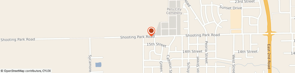 Route/map/directions to Dave's PC Shop, 61354 Peru, 4238 Shooting Park Rd