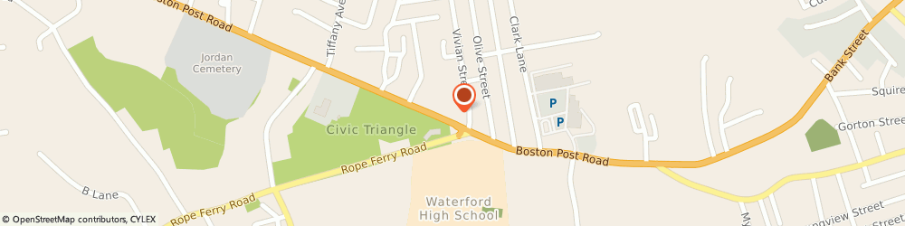 Route/map/directions to Citibank ATM, 06385 Waterford, 157 Boston Post Road