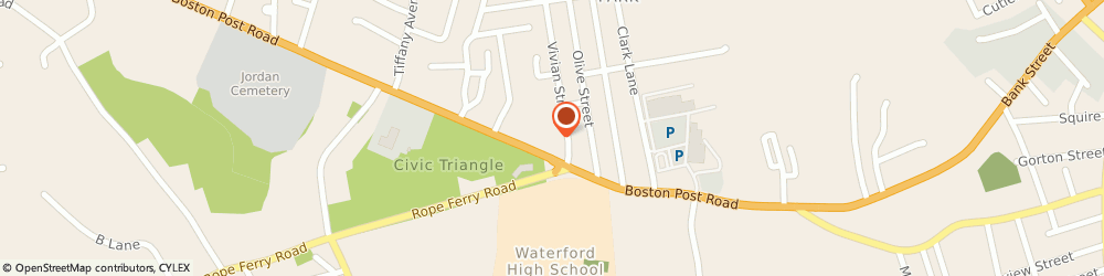 Route/map/directions to Atm Great Western Bank, 06385 Waterford, 157 Boston Post Road