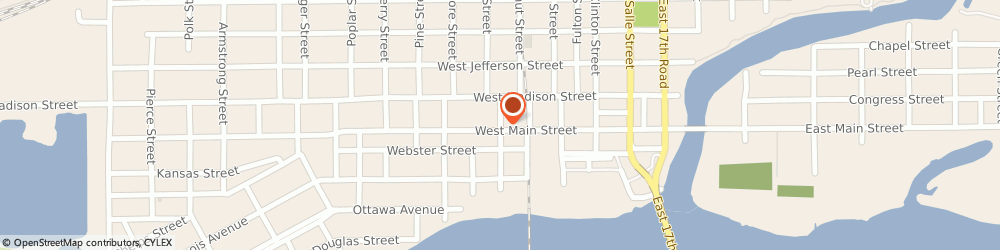 Route/map/directions to Safeco Insurance Agent, 61350-2772 Ottawa, 612 Fillmore St