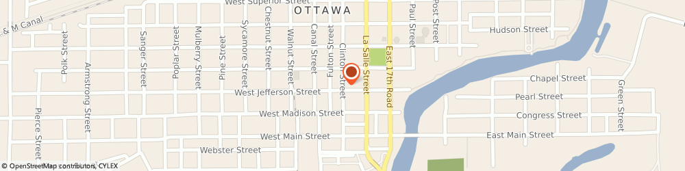 Route/map/directions to IIP Insurance Agency, Inc., 61350 Ottawa, 823 Clinton St